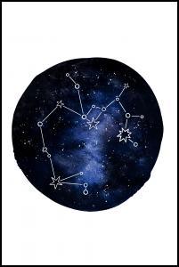 Sagittarius Plakat