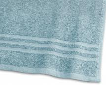 Gæstehåndklæde Basic Frotté - Turkis 30x50 cm
