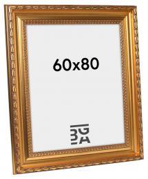 Birka Premium Billedramme Guld 60x80 cm
