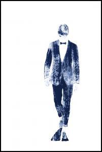 Pinstriped suit Plakat
