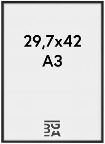 Galant Plexiglas Sort 29,7x42 cm (A3)