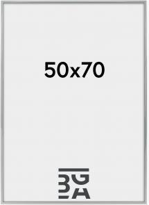 Nielsen Premium Alpha ramme Blank Sølv 50x70 cm