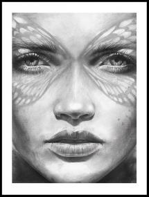 Magdaty - Lady Butterfly Plakat