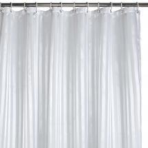 Badeforhæng - Hvid 180x200 cm