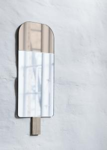 Spejl EO Ice Cream Warm Rose 22x57 cm