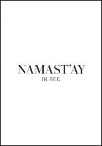 namast'ay in bed Plakat