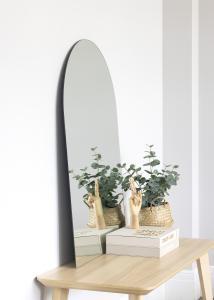 KAILA Spejl Cut Oval 70x100 cm