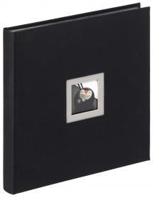 Black & White Album Sort - 30x30 cm (50 Sorte sider / 25 blade)
