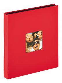 Fun Album Rød - 400 Billeder i 10x15 cm
