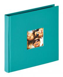 Fun Album Grøn - 18x18 cm (30 Sorte sider / 15 blade)