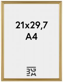 Decoline ramme Guld 21x29,7 cm (A4)