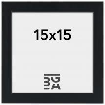 Ramme Stilren Sort 15x15 cm