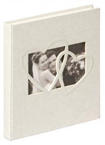 Sweet Heart Gæstebog - 23x25 cm (144 Hvide sider / 72 blade)