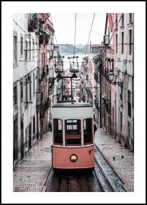 Lisbon Cable Car Plakat