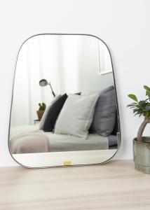 Spejl Trapezium Metal 42x48 cm