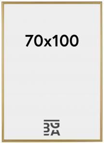 Decoline ramme Plexiglas Guld 70x100 cm