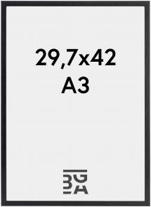 Ramme Galant Akrylglas Sort 29,7x42 cm (A3)