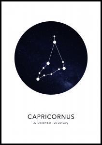Capricornus Plakat