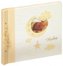 Babyalbum Bambini Maxi Creme - 28x25 cm (60 Hvide sider / 30 blade)