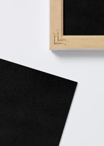 Syrefrit sort indlægsblad - 30x40 cm