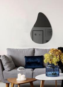 Spejl Slim Drop Warm Grey 80x55 cm