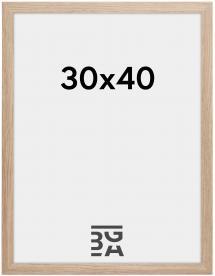 Ramme Stilren Akrylglas Eg 30x40 cm