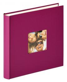 Fun Design Lilla - 30x30 cm (100 Hvide sider / 50 blade)