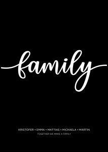 Family - Black