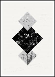 Abstract Geometry V Plakat