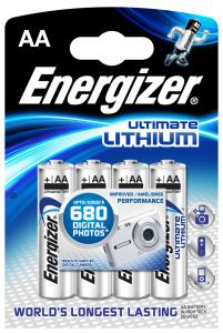 Energizer Ultimate Lithium AA 4-pak