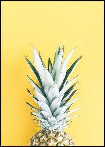 Pineapple Yellow Plakat