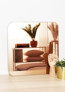 KAILA Spejl Square Rose Gold 40x40 cm
