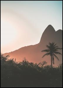 Mountain Sunset Plakat