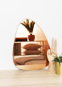 KAILA Spejl Shape I Rose Gold 30x40 cm