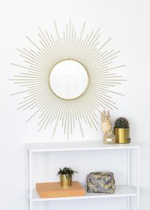 KAILA Spejl Star - Guld 90x90 cm