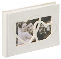 Sweet Heart Fotoalbum - 22x16 cm (40 Hvide sider / 20 blade)