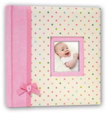 Kara Album Rosa - 24x24 cm (40 Hvide sider / 20 blade)