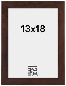 Stilren Billedramme Valnød 13x18 cm