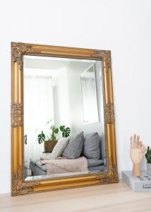 Spejl Bologna Guld 50x70 cm