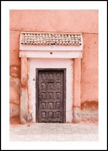 Marocco-pastell Plakat