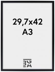 Edsbyn Sort 29,7x42 cm (A3)