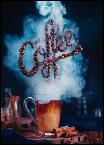 Smell the coffee Plakat