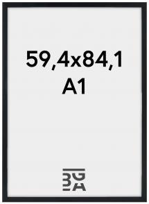 Stilren Plexiglas Sort 59,4x84,1 cm (A1)