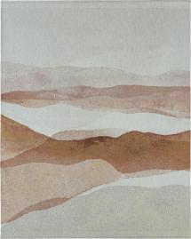 Vægtæppe Dunes - Beige 100x127 cm