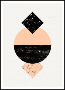 Abstract Geometry VI Plakat