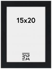 Stilren Billedramme Sort 15x20 cm