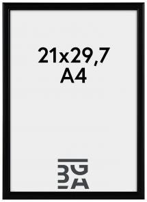 Newline ramme Sort 21x29,7 cm (A4)