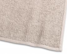 Gæstehåndklæde Stripe Frotté - Sand 30x50 cm