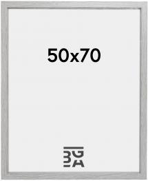 Elegant Box Fotoramme Grå 50x70 cm