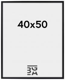Ramme Edsbyn Akrylglas Sort 40x50 cm